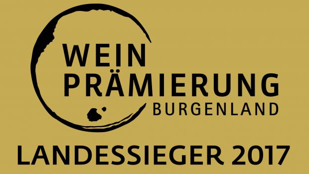 Weinprämierung Burgenland Landessieger 2017 Logo