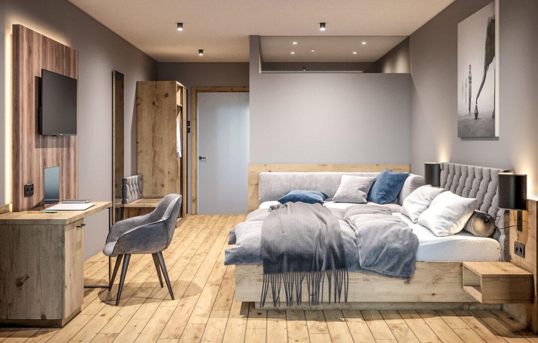 Zimmer Schlafgut Fam Steurer, Visualisierung Mobiliar: schalko.at